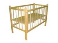 Кровати младенческие массив