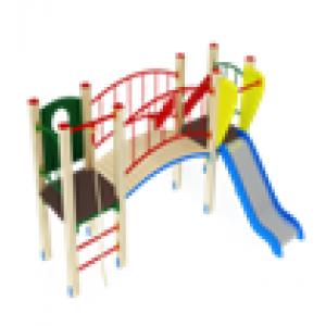 Детский игровой комплекс                          Карапуз Горка 750                                           3060х2880х1500