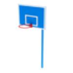 Стойка баскетбольная                                           1220х1835х3600..
