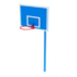 Стойка баскетбольная                                           1220х1835х3600