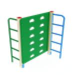 Лаз Стенка с лестницами                                           1000х930х1500..