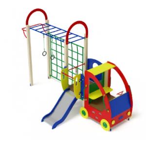 Детский игровой комплекс «Машинка с горкой 2»                                      4450х2540х3000