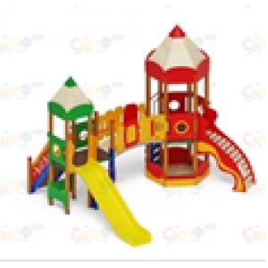 Н=1200Детский игровой комплекс «Карандаши»  4830х4370х4000