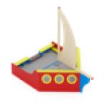 Песочница Яхта                                            4070х2820х3500..