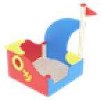 Песочница Кораблик с парусом                                           1300х1360х1500..