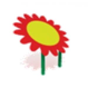 Навес для песочницы Цветок                                           1200х1200х1500