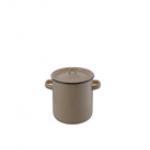Кастрюля (эмаль)9,0 л.           Толщина металла 0,5 мм., Эмалевое покрытие устойчиво к перепадам..
