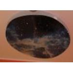 Подвесной фибероптический модуль «Сказочная галактика» 120х120 см..