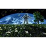 Флуоресцентная фибероптическая картина «Космос»..
