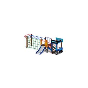 Детский игровой комплекс                           Грузовичок Горка 750                                           5170*2400*1800