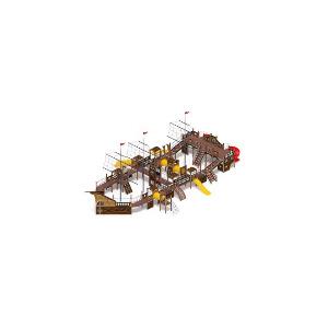 Детский игровой комплекс «Баркентина»23630*13360*9500