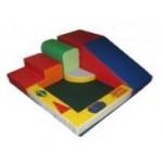 Спортивный комплекс«Уголок»6 элементов на полотнес дидактическими элементами