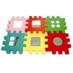 Игровой набор                   «Зеркальные пазлы»           комплект - 6 деталей