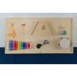 Панель с музыкальными инструментами