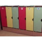 Шкаф для одежды на цоколе 2-секц...