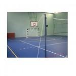 Стойка волейбольная на растяжках с механизмом натяжения, универсальная