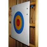 Щит для метания (мишень) навесной на стенку гимн