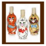 Деревянная игрушка-свисток, модель «Котик», 7,0 х 3,2 см