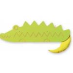 Настенная панель-лабиринт «Крокодил»