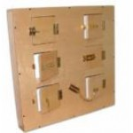 Модуль с шестью дверцами, замочкам.