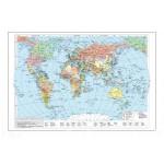Политическая карта мира.  Размеры: 1500х1000 мм