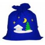 Мешок для подарков к костюму Деда Мороза.  ..