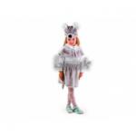 Карнавальный костюм Мышонок. Мышка серый, мех