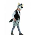 Карнавальный костюм Волк Семен, мех.