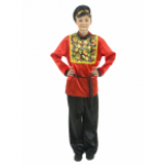 Карнавальный костюм Хохлома для взрослых.