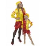 Карнавальный костюм Клоунесса взрослый.