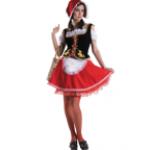 Карнавальный костюм Красная Шапочка.
