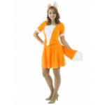 Карнавальный костюм Лисичка с юбочкой.