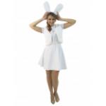 Карнавальный костюм Зайка с юбочкой взрослый.