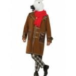 Карнавальный костюм Конь в пальто (белый).