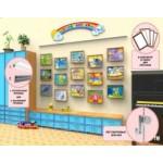 Галерейная система выставки рисунков