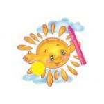 Крепление для рисунка Солнышко
