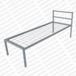 Кровать металлическая одноярусная сетка сварная 100x50мм 'КС-0'  КМ7-2..