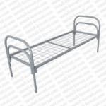 Кровать металлическая одноярусная  сетка сварная 100x100мм 'КС-3'.  КМ11-2..