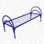 Кровать металлическая одноярусная сетка сварная 100х50мм  КМ10-3..