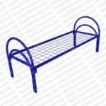 Кровать металлическая одноярусная усиленная 190x70 сетка сварная 100x100мм ( двойная ножка) 'КС-2У. ..