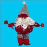 Игрушка мягкая Санта на лыжах