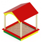 Песочный дворик домик ИО 534