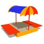 Песочница «Зонтик»              3,0*1,9*2,1