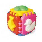 Логика куб Веселые зверята