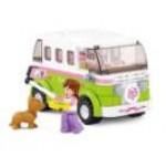 Розовая мечта. Микроавтобус для путешествий 158 дет.