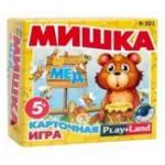 Карточная игра R-201 Мишка и мед