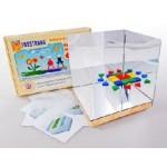 Игровой набор Фребеля «Мозаика геометрическая 3D»