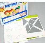 Игровой набор «ТАНГРАМ» (с комплектом карточек)