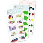 Комплект 10 карточек «Обучающий калейдоскоп® для ДО. Познание. Цвет и форма»
