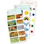 Комплект 10 карточек «Обучающий калейдоскоп® для ДО. Познание. Мир природы»